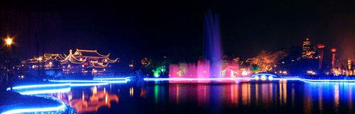 毕节城区夜景-贵州新闻网::中国新闻社贵州分社主办