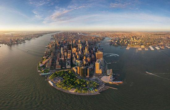 纽约的地平线。 图片来源:环球网
