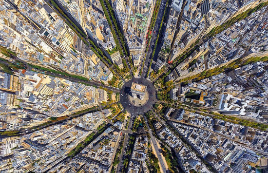 巴黎地标凯旋门。 图片来源:环球网