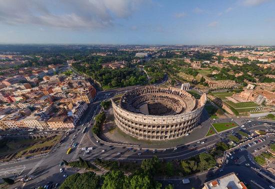 罗马的大斗兽场。 图片来源:环球网