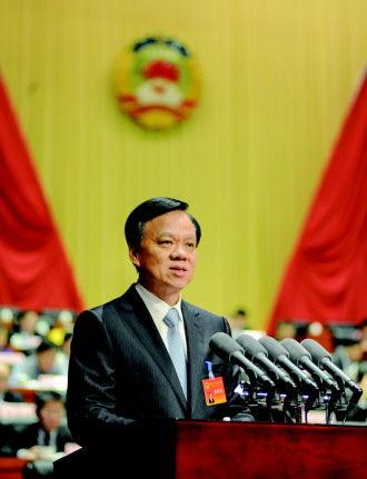 贵州省委书记陈敏尔在省政协第十一届四次会议上作重要讲话。 谢强 旷光彪 摄