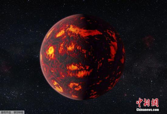 因为母恒星明亮的高亮度让很多种敏感的测量变得可行,所以巨蟹55e是一个测验行星形成、演化和存留的理论的完美实验室。(图为艺术家创作的概念图)