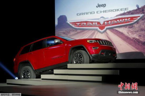 Jeep的大切诺基新车型Trailhawk。