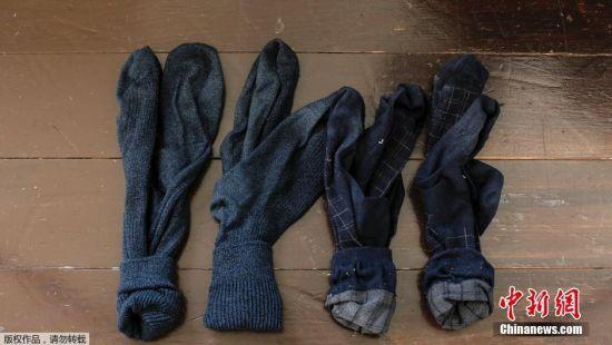 直树仅有的四双袜子。