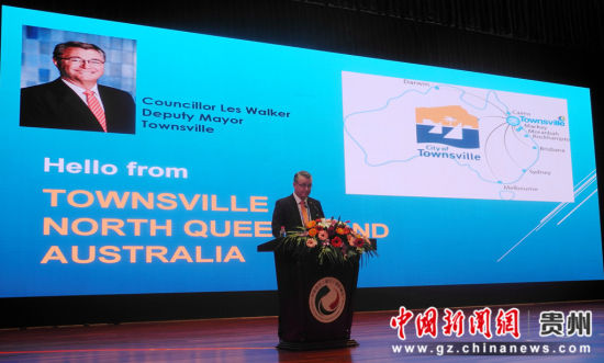 澳大利亚汤斯维尔市政府副市长赖斯•亚力山大•沃克