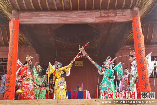 """重庆时时彩开奖号码:贵州天柱:""""唱大戏、展非遗、庆元宵"""""""