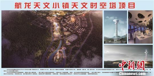 天文时空塔规划效果图。平塘县外宣办 供图