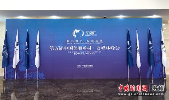 第五届中国美丽乡村•万峰林峰会现场。