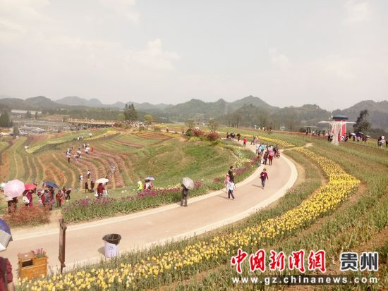 花画小镇位于贵阳市乌当区羊昌镇,于2017年3月开园,是以花卉为主导
