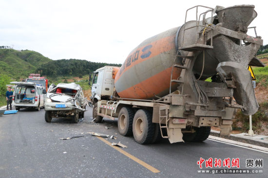图为事故现场。