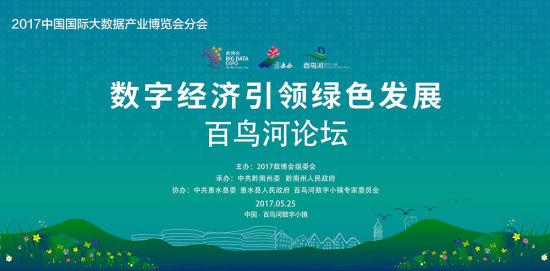 数字经济引领绿色发展百鸟河论坛