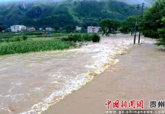 电子游戏网址大全:强降雨致贵州江口各乡镇受灾严重
