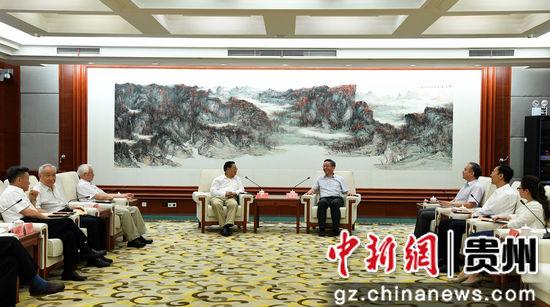 彩88彩票网站:贵州副省长卢雍政会见外交部外交政策咨询委员会代表团