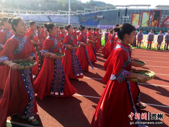 中国古茶树之乡代表队。