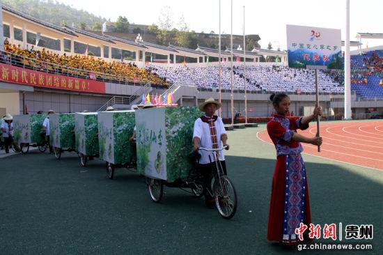 中国空心李之乡代表队。