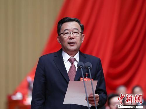 资料图 贵州省委书记孙志刚。中新社记者 贺俊怡 摄