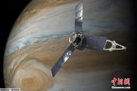 """""""朱诺""""号自进入木星轨道以来,向地球传回了许多前所未有的木星壮丽画面。如今""""朱诺""""号到了任务的最后阶段,NASA表示将考虑延长朱诺号的任务时长,因为这个探测器表现出色,并没有显示任何可能妨碍其有效性的机械问题。由于""""朱诺""""号可能污染木星卫星,NASA决定了,最终""""朱诺""""号将主动受控坠入木星大气层焚毁。"""