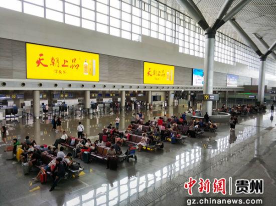 """重庆时时彩苹果软件:贵阳龙洞堡机场:""""黔程在握""""助力机场智慧运行"""