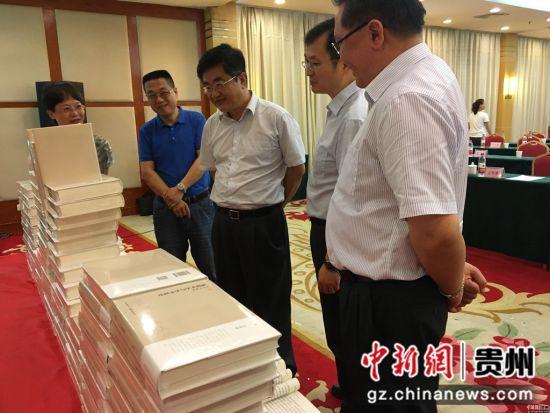 省委宣传部部长慕德贵参加首发仪式。杨茜 摄