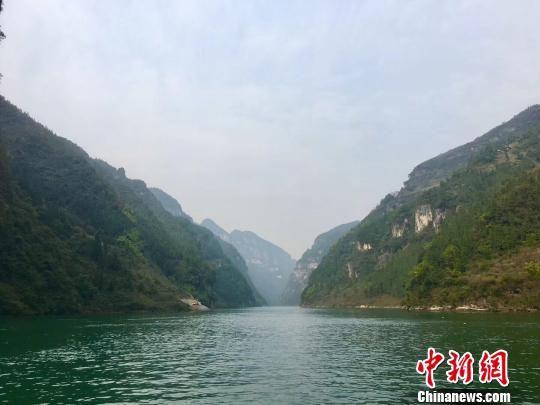 贵州乌江。 杨云 摄
