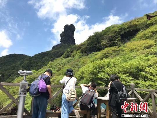 图为贵州铜仁市梵净山。 冷桂玉 摄