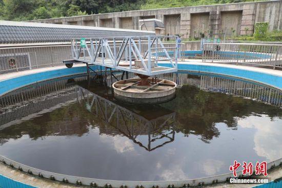 贵州茅台酒厂中华新区污水处理厂。瞿宏伦 摄