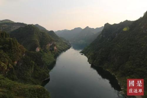图为贵州省遵义市余庆县境内的乌江流域。 中新社 夏宾 摄