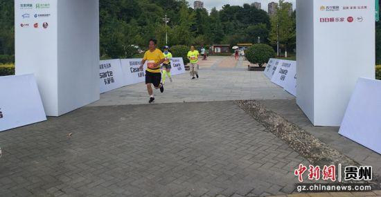 专业组第一名抵达,用时12分8秒。