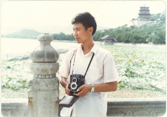 陈石北京大学学习期间照片