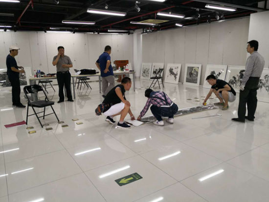 陈石北京画展