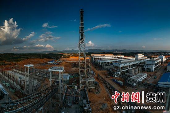能矿锰业锰资源循环经济示范项目现场