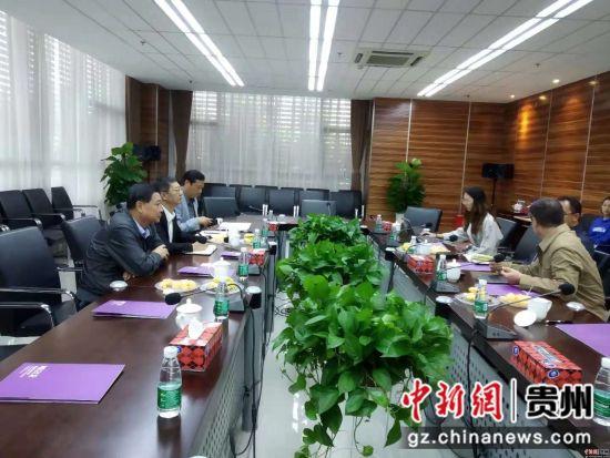 贵州省投资促进局机关党委书记刘京渝一行赴成都考察医药企业。
