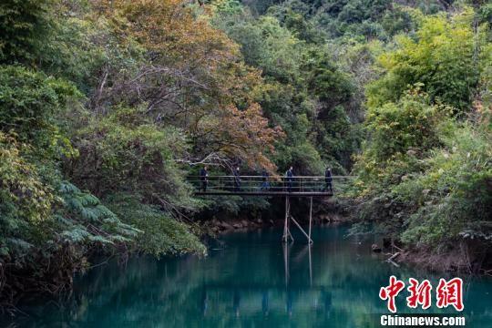 荔波茂兰国家级自然保护区。 贺俊怡 摄