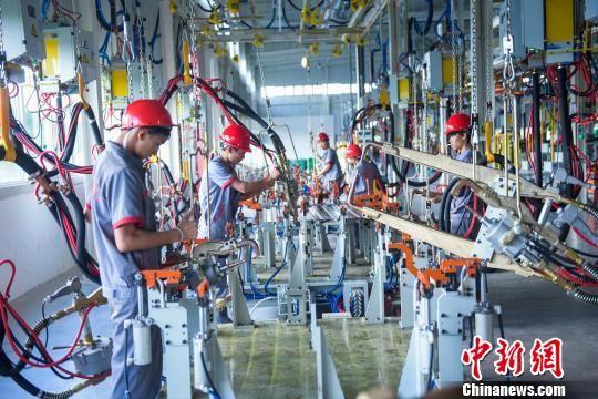 铜仁市招商引资项目。 杨涛 摄