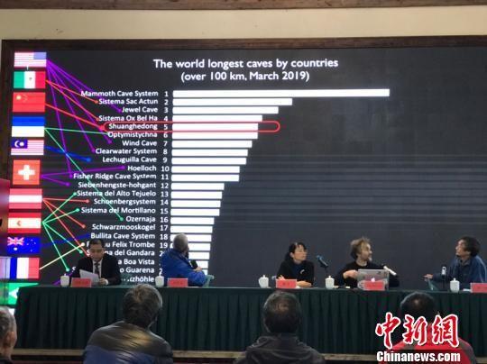 贵州双河洞跃居世界第五长洞。周燕玲 摄