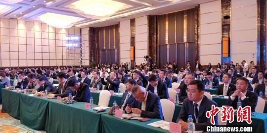 图为中日青年企业家(贵州)经贸交流活动现场。 曾实 摄