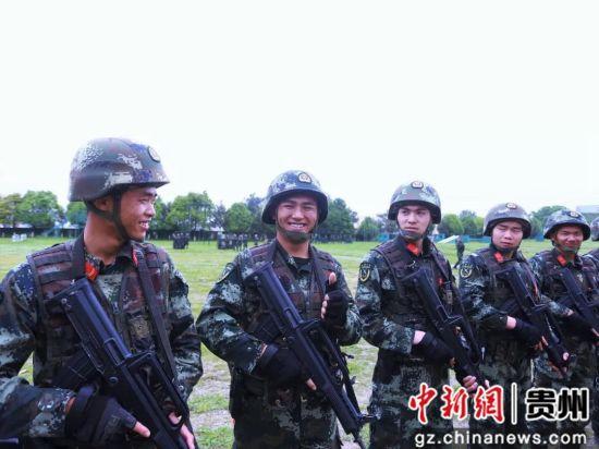 武警贵州总队机动支队供图