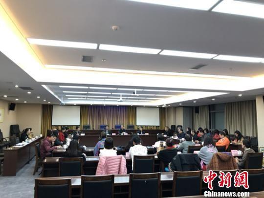 贵州省文化和旅游厅与考察团一行举行贵州入境游专题座谈。贵州省文化和旅游厅供图