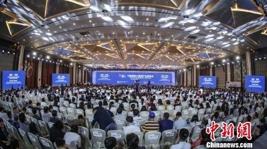 2019年中国国际大数据产业博览会26日在贵阳市开幕。 刘鹏 摄