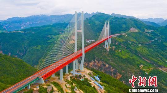 北盘江大桥。 刘叶琳 摄