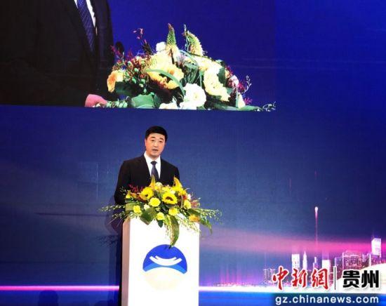 茅台集团总经理助理、茅台集团技术开发公司董事长杨凤祥。舒星摄
