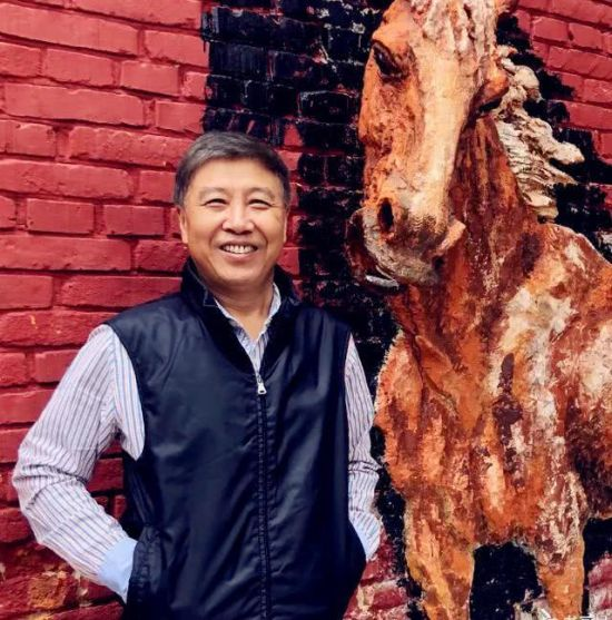 贵州美协名誉主席陈石近照