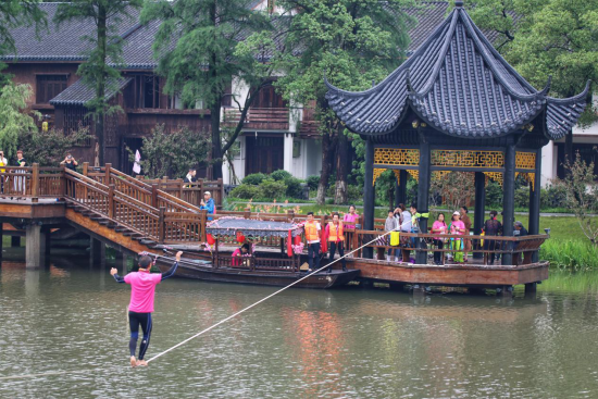 中国户外健身休闲大会走进贵州丹寨