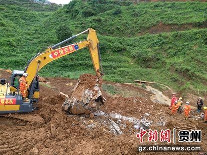 图为救援现场。中国安能供图
