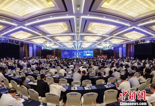资料图:2019中国-东盟教育交流周开幕式。瞿宏伦 摄