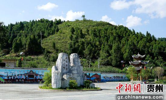 美丽乡村江元哨文化广场。