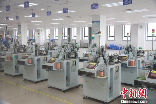 图为贵州省机械设备生产情况。资料图 宁南 摄