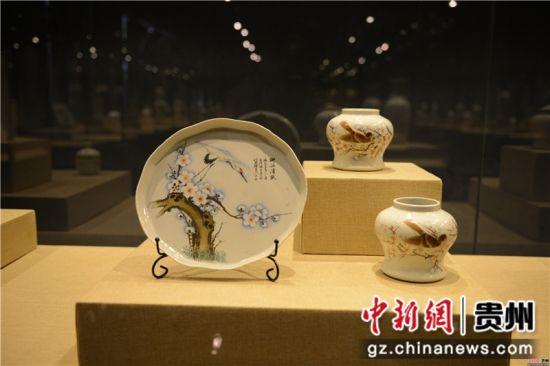古代瓷盘收藏品