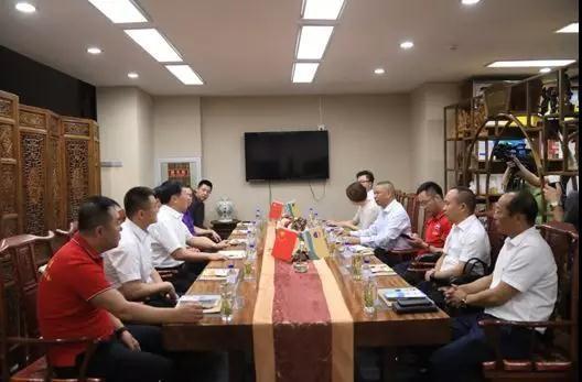 刘大能与吉林经销商代表座谈