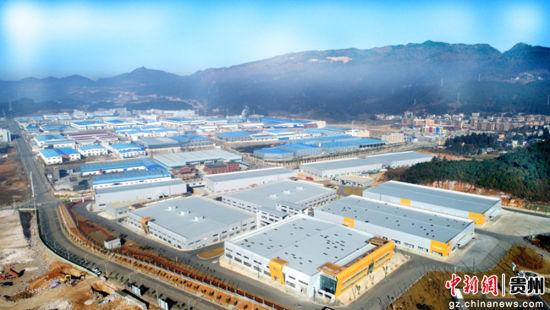 工业园区大景变淡。